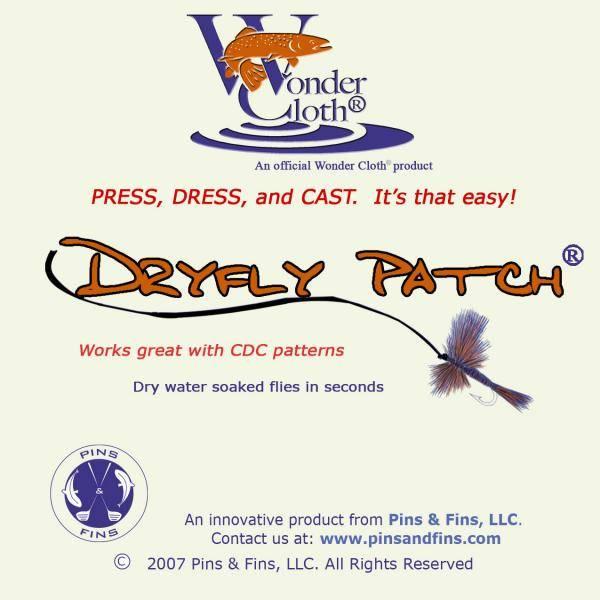Bilde av Wonder Cloth Dryfly Patch