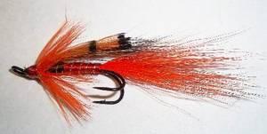 Bilde av Ally's Shrimp (dobbel lang krok) lakseflue