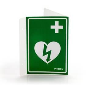Bilde av Skilt hjertestarter plog