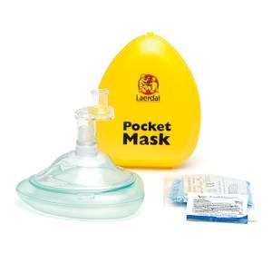 Bilde av Pocket mask m/enveisventil og filter