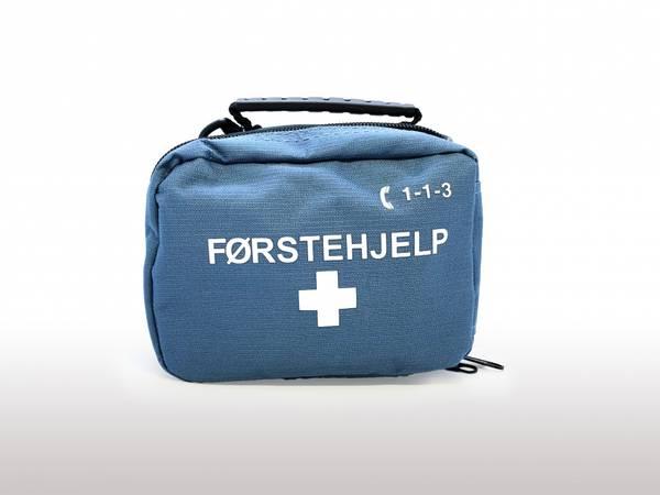 Førstehjelp tur/fritid blå