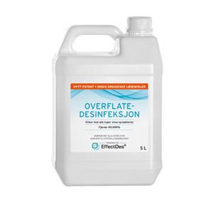 Bilde av EffectDes 5 L alkoholfri overflatedesinfeksjon 3 stk