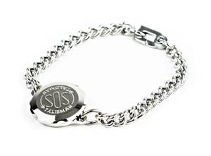 Bilde av SOS-kapsel armbånd rustfritt stål, dame