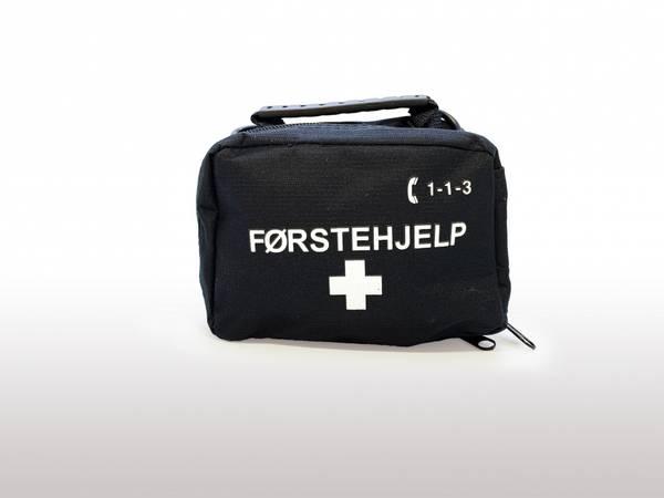 Førstehjelp tur/fritid sort