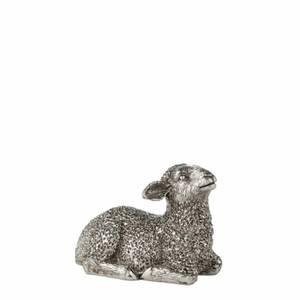 Bilde av Lam 6 cm antikk sølv