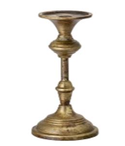 Bilde av Elegant lysestake, bronse H: 21 cm
