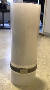 Bilde av Rustic lys hvit tynn 20 cm