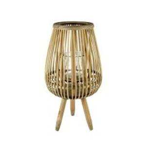 Bilde av Lanterne bambus 25x25x46 cm