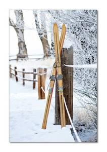 Bilde av Vintage Skis (50x70 bilde Plexiglass)