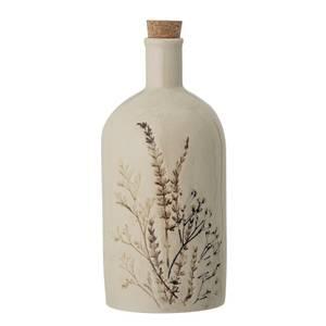Bilde av Bea-flaske m / kork, natur, steintøy