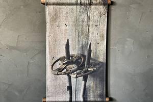 Bilde av Plansje gamle staver 40x60cm