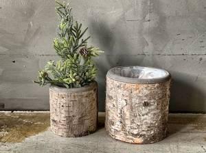 Bilde av Potteskjuler bark 20x20 cm sett med 2 stk