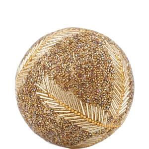 Bilde av Dekorasjonskule i glitrende gull