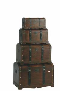 Bilde av Koffer i brunt tre