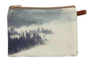 Bilde av Cosmetic bag-Foggy Forest-Grey, 20x14 cm