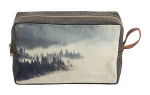 Bilde av Cosmetic bag-Foggy Forest-Grey, 23x15x6 cm