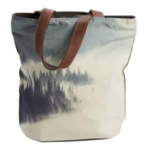 Bilde av  Shopper-Foggy Forest-Grey, 40x40 cm