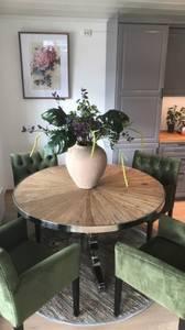 Bilde av Kensington spisebord Ø: 130cm