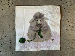 Bilde av Strikkesau 25x25 cm