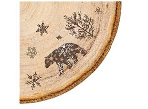 Bilde av Serviett rund 20 stk Forest Stamps 3 lag dia 32cm