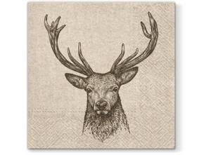 Bilde av Serviett lunsj 20 stk We care Deer