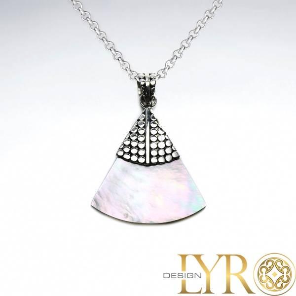 Bilde av Perlemor Triangel - Sølv