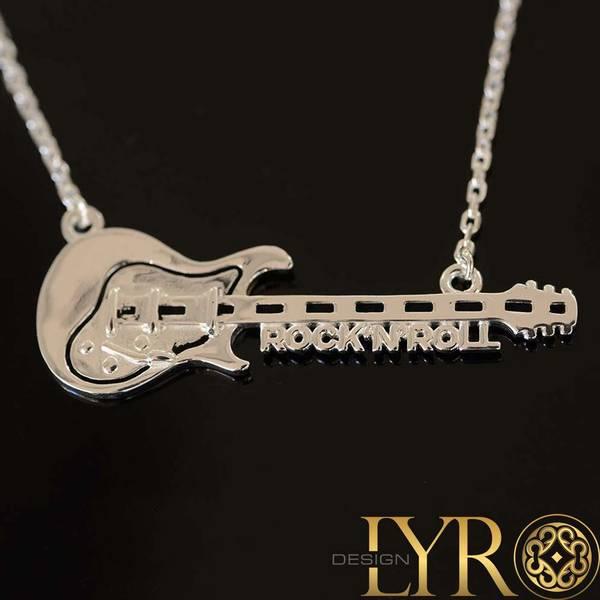 Bilde av Rock n Roll Gitar - Sølvanheng