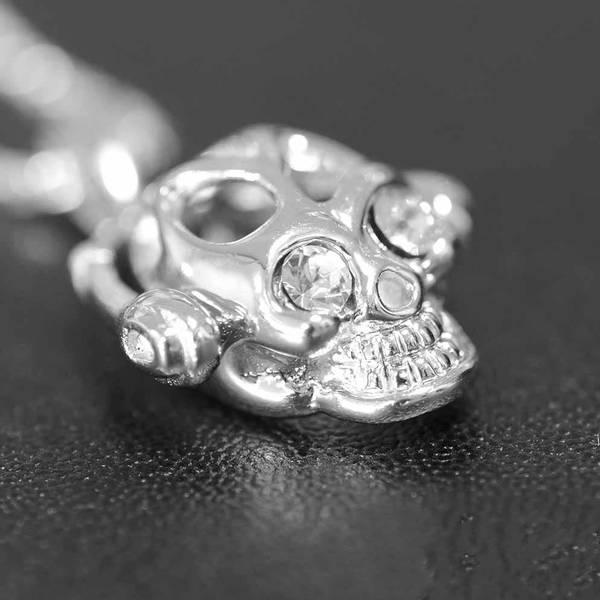 Funky Skull - Sølvanheng