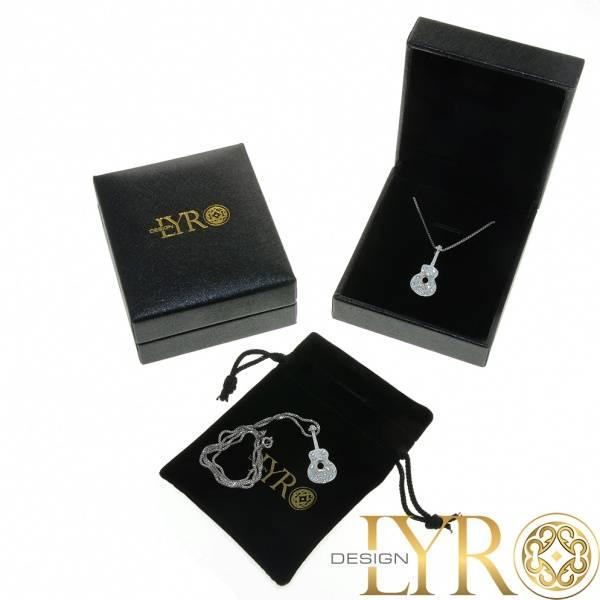 Bilde av Kjærlighetslås - Gullbelagt sølvsmykke