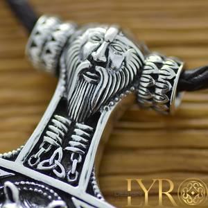 Bilde av Torshammer Vikinghode - Sølv