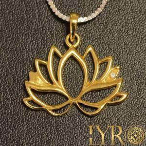 Bilde av Gullbelagt lotusblomst
