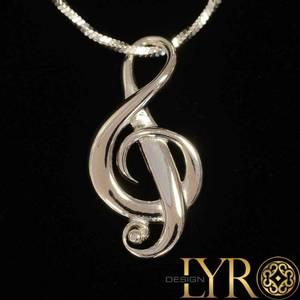Bilde av Sweet Music – G-nøkkel i sølv
