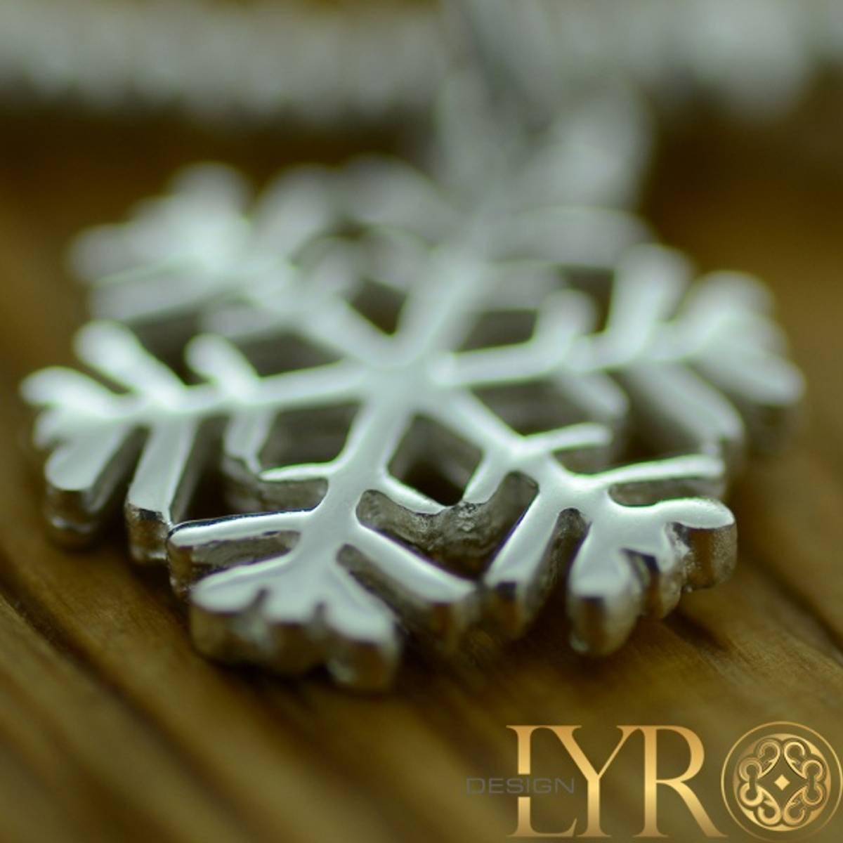 Snøfnugg - Sølvarmbånd