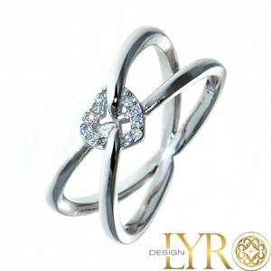 Bilde av Belle - Sølvring med Cubic Zirconia
