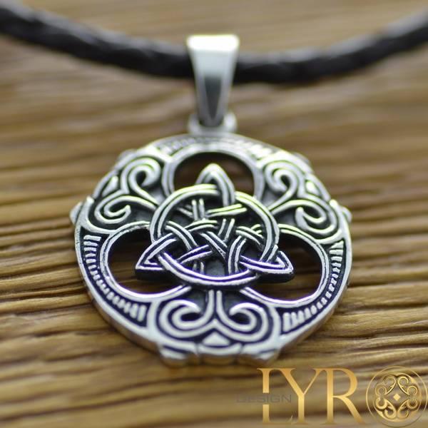 Bilde av Viking Trikvetra - Sølvanheng