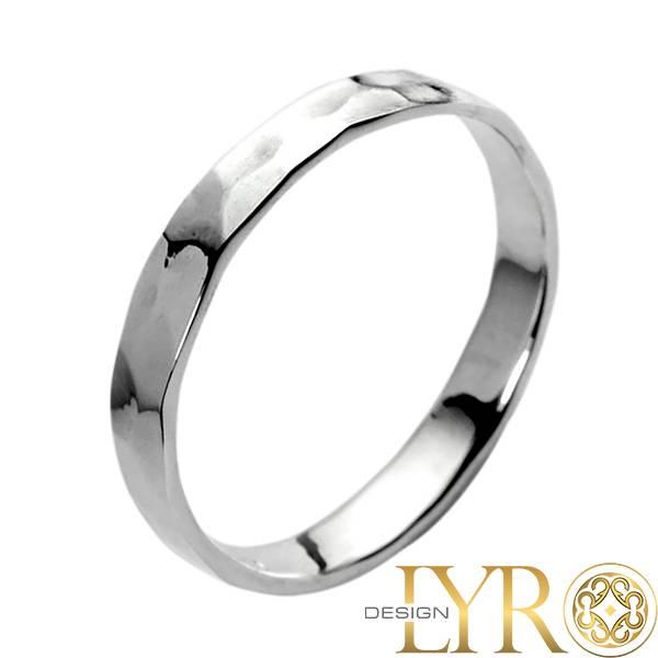 Bilde av Hamret sølvring - Sølvring
