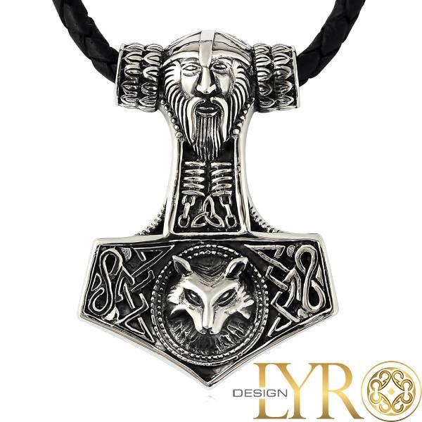 Bilde av Torshammer Vikinghode - Sølvanheng