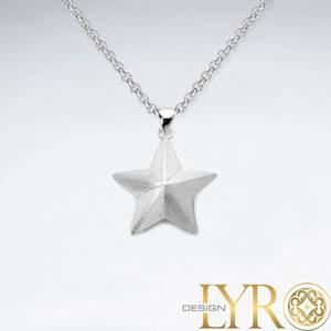 Bilde av Børstet Sølvstjerne - Sølv