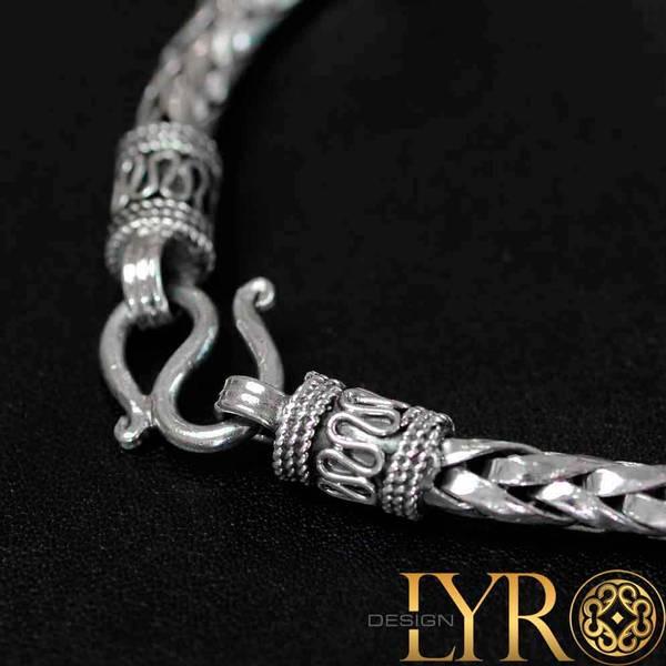 Bilde av Vikinginspirert Sølvarmbånd