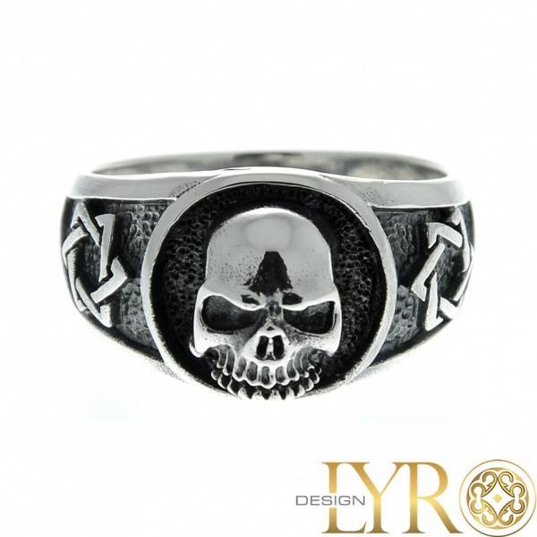 Bilde av Hexa-Skull - Sølvring