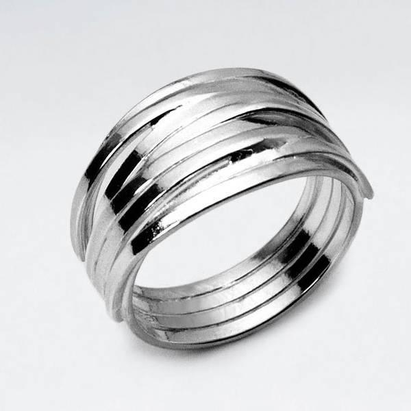 Bilde av Frigg - Flettet Sølvring