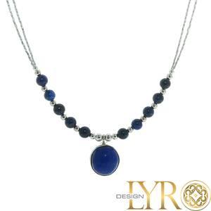 Bilde av Sølvkjede - Lapis Lazuli