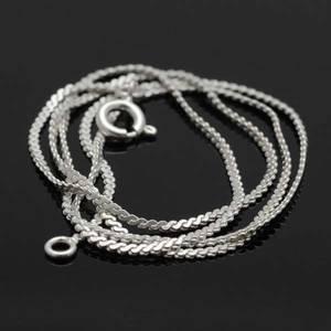 Bilde av Sølvkjede - Serpentin 0.9 mm