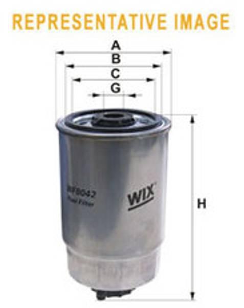 Dieselfilter Mercruiser 2,0/2,8/4,2