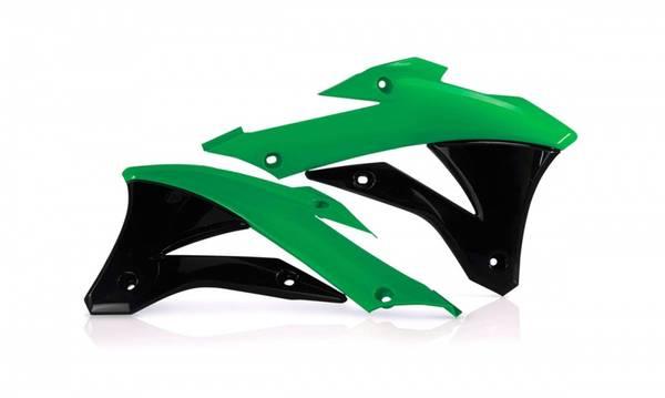 Radiatordeksler sort/grønn Acerbis,KX85 2014 og opp