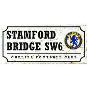 Bilde av Chelsea skilt retro stadium