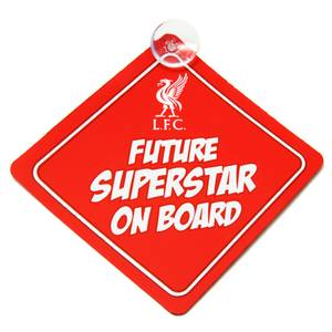 Bilde av Liverpool baby on board skilt