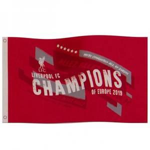 Bilde av Liverpool flagg Champions of Europe