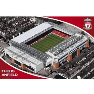 Bilde av Liverpool stadion plakat