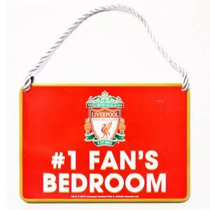 Bilde av Liverpool skilt no.1 fan bedroom